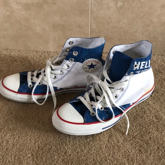 online shop uk store factory outlets Converse All Star Sneakers Hello my name is....